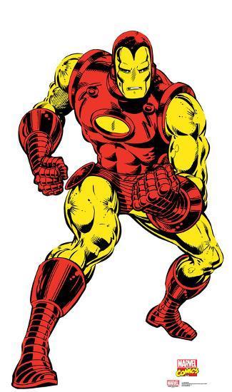 Iron Man Marvel Comics Lifesize Standup Cardboard Cutouts Allposters Com In 2021 Iron Man Comic Iron Man Marvel Comics