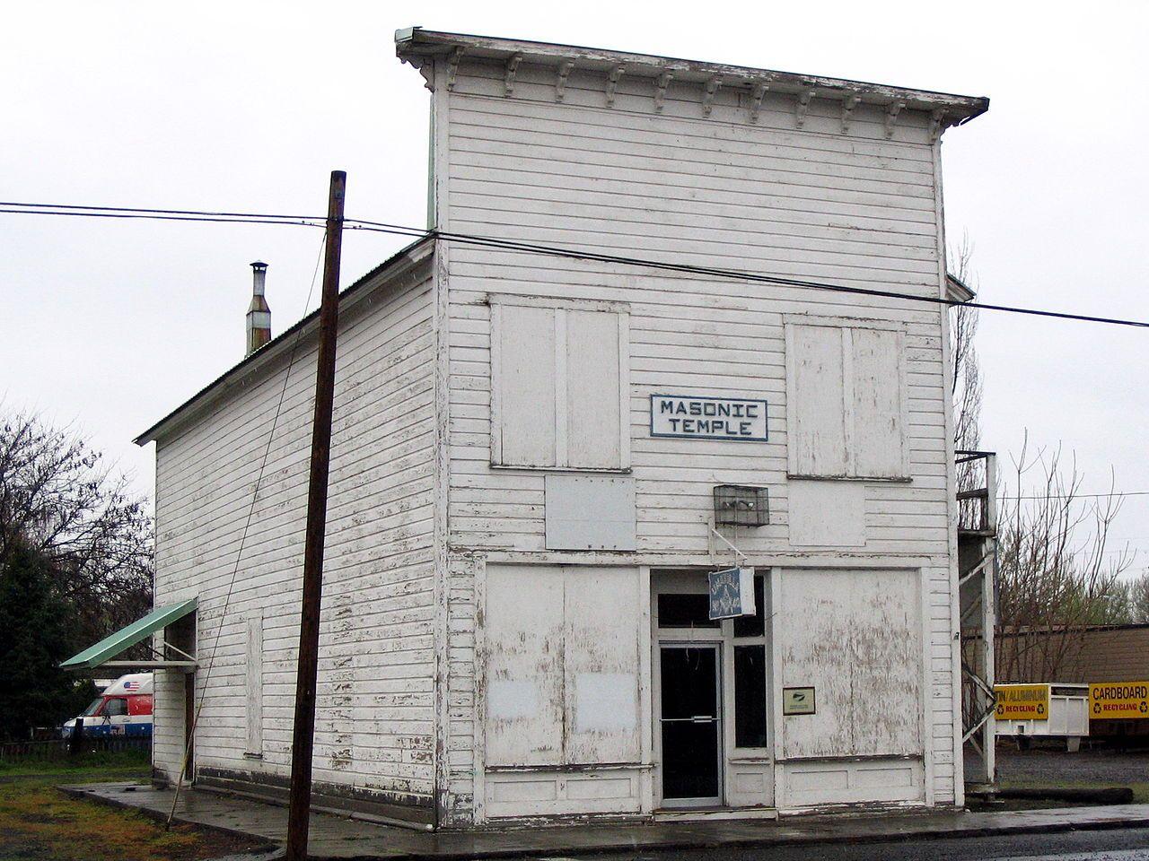 Umatilla masonic lodge hall in umatilla county oregon