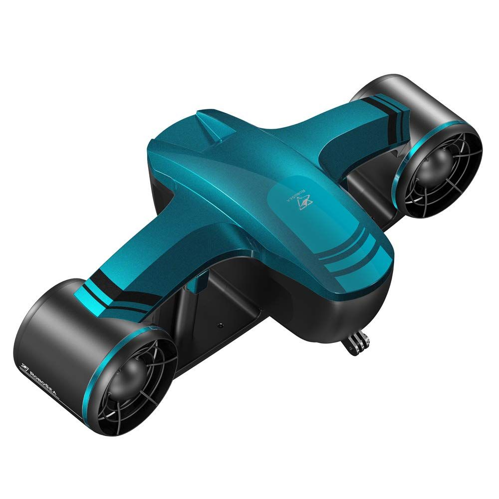 Robosea Seaflyer Underwater Scooter For Swimming Or Diving With Camera Mount Oled Dashboard Green Diving Diving Gear Sports Camera
