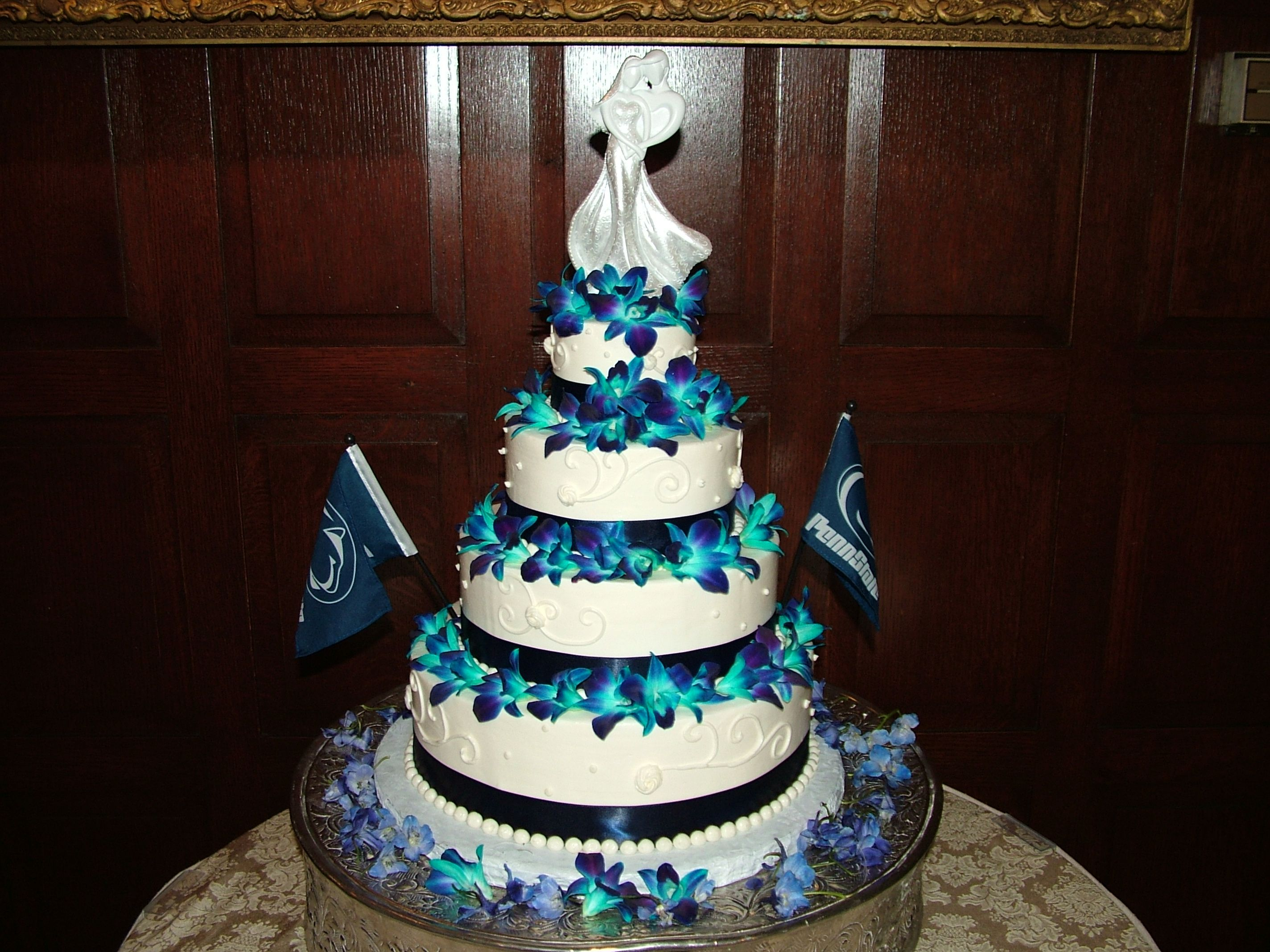 Blue And Purple Orchid Cake Best Cars 2018
