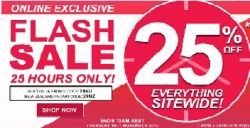 Millers Online Exclusive Flash Sale Valid For 25 Hours Only 25 Off Storewide Sale Hot Deals 25th Hour