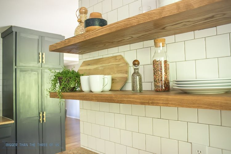 How To Install Heavy Duty Floating Shelves For The Kitchen Heavy Duty Floating Shelves Floating Shelves Kitchen Floating Shelves
