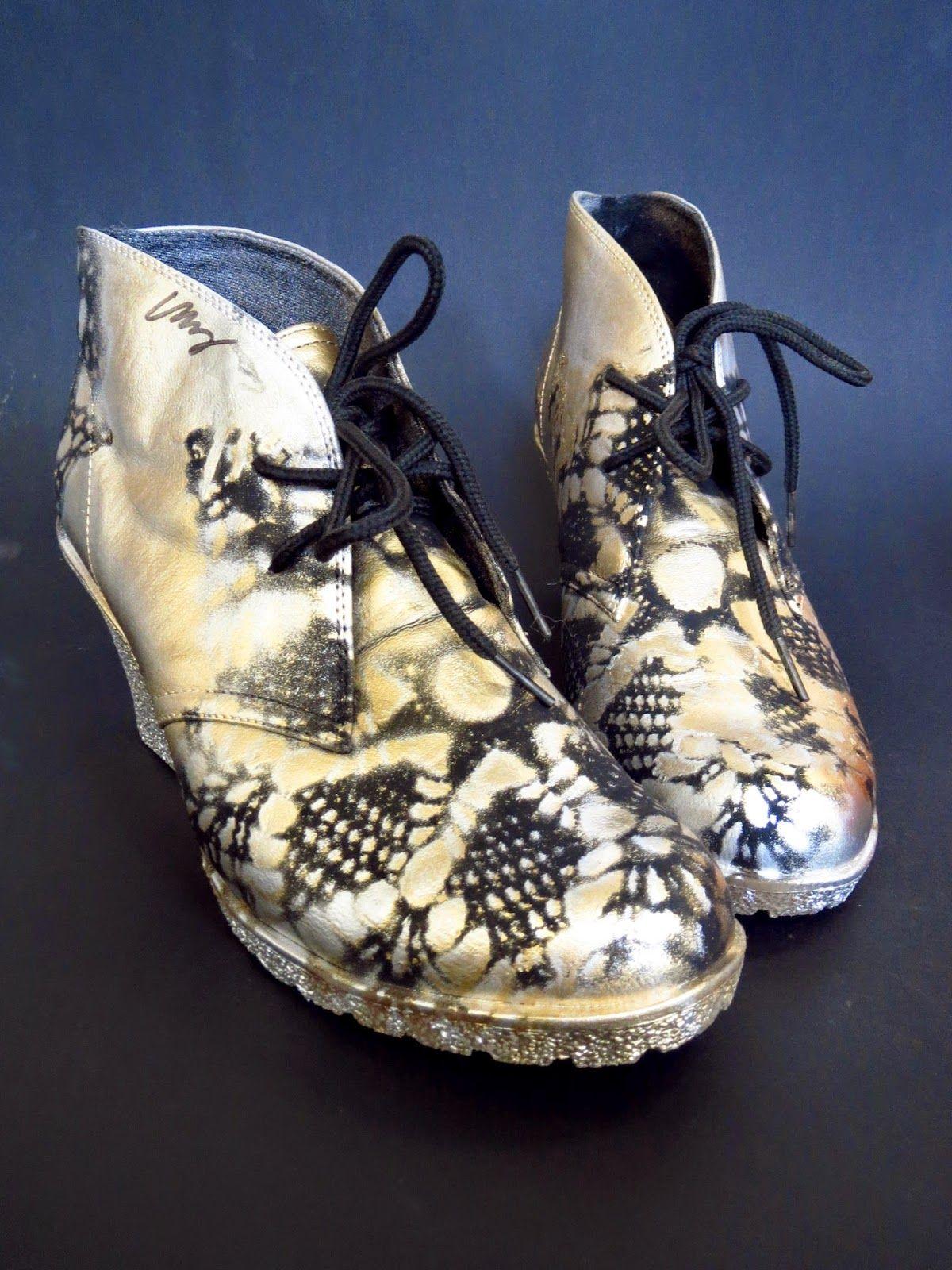 VMSomⒶ KOPPA: Tuunatut kengät