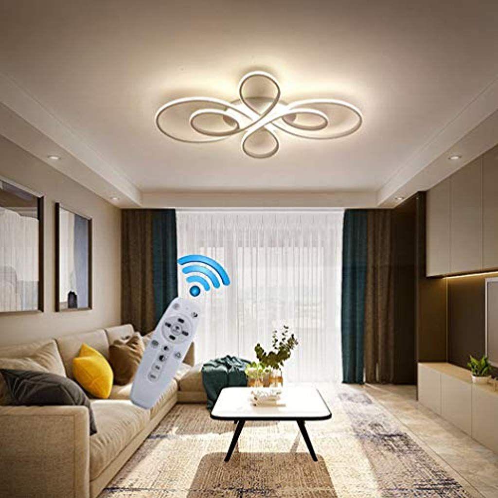 Plafoniera Design Moderno Camera Da Letto.Plafoniera Led Soffitto Moderna 72w Dimmerabile Con Telecomando