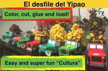 El desfile del Yipao: Fun paper craft and Cultura