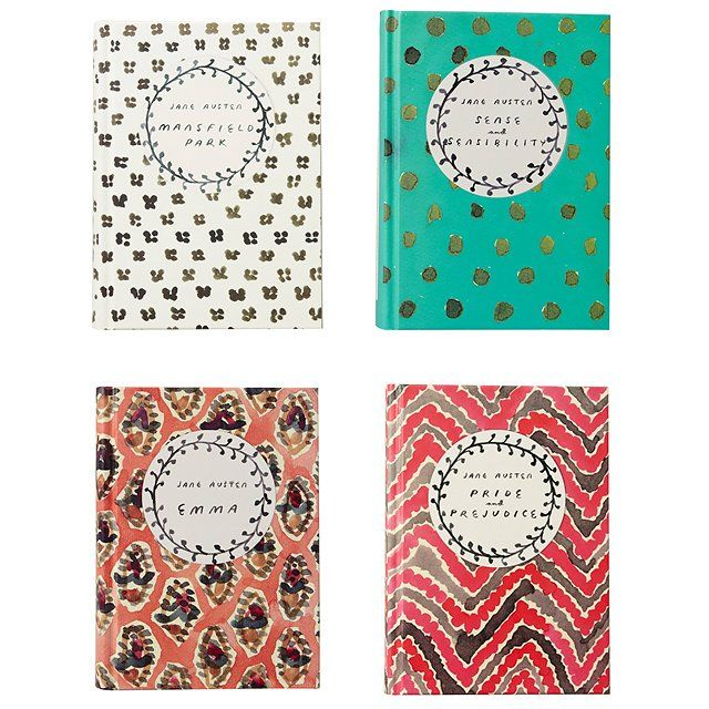 Jane Austen classic novels, $19 anthropologie.com