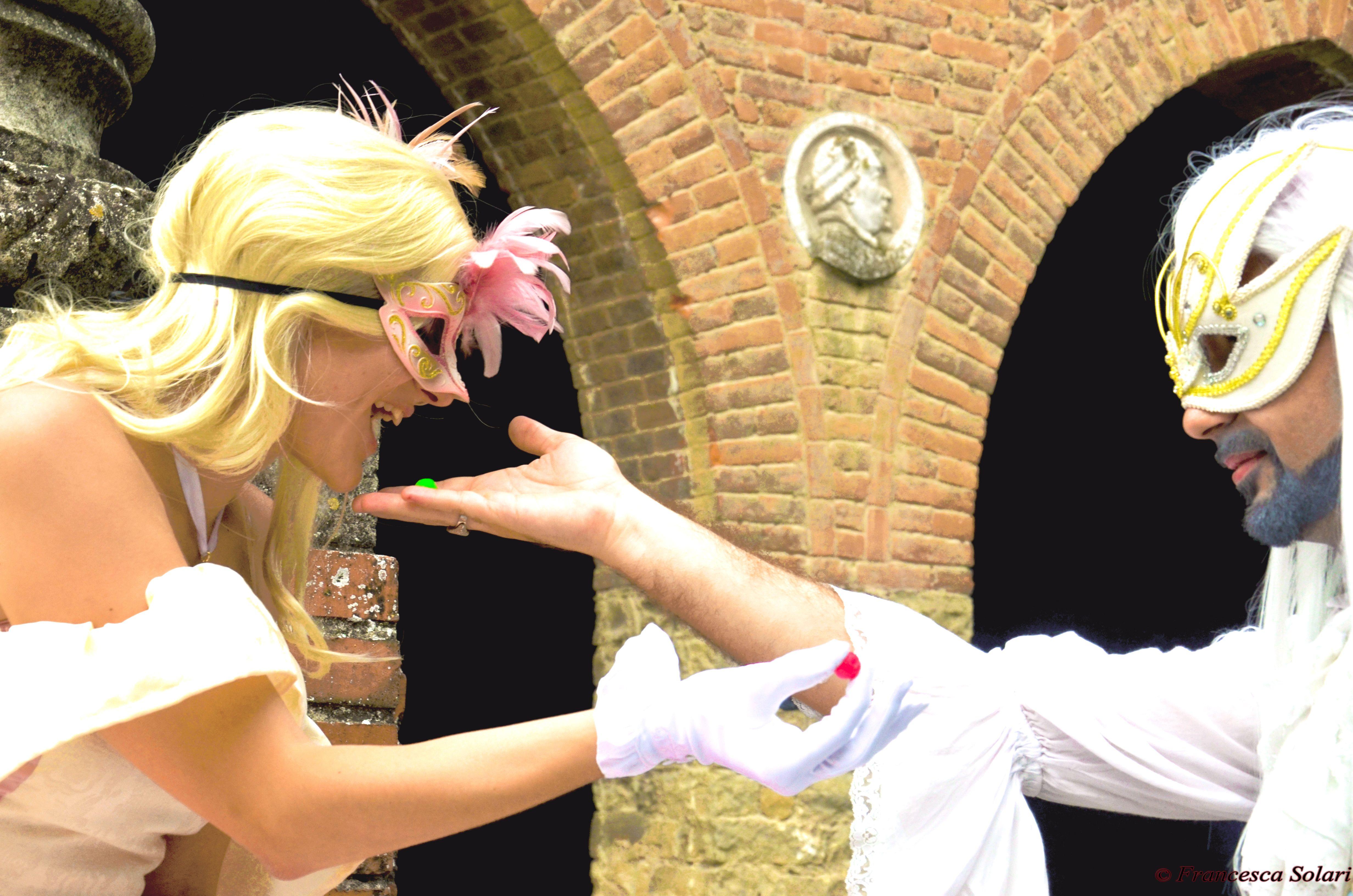 Larien and Weerbloom from Leodhrae http://www.aurorafilippi.com/  Photo by: Francesca Solari https://www.facebook.com/Francesca-Solari-Photography-454269394624161/ Location: Grazzano Visconti (Italy) #leodhrae #fantasy #costume #cosplay #book #novel #fairyland