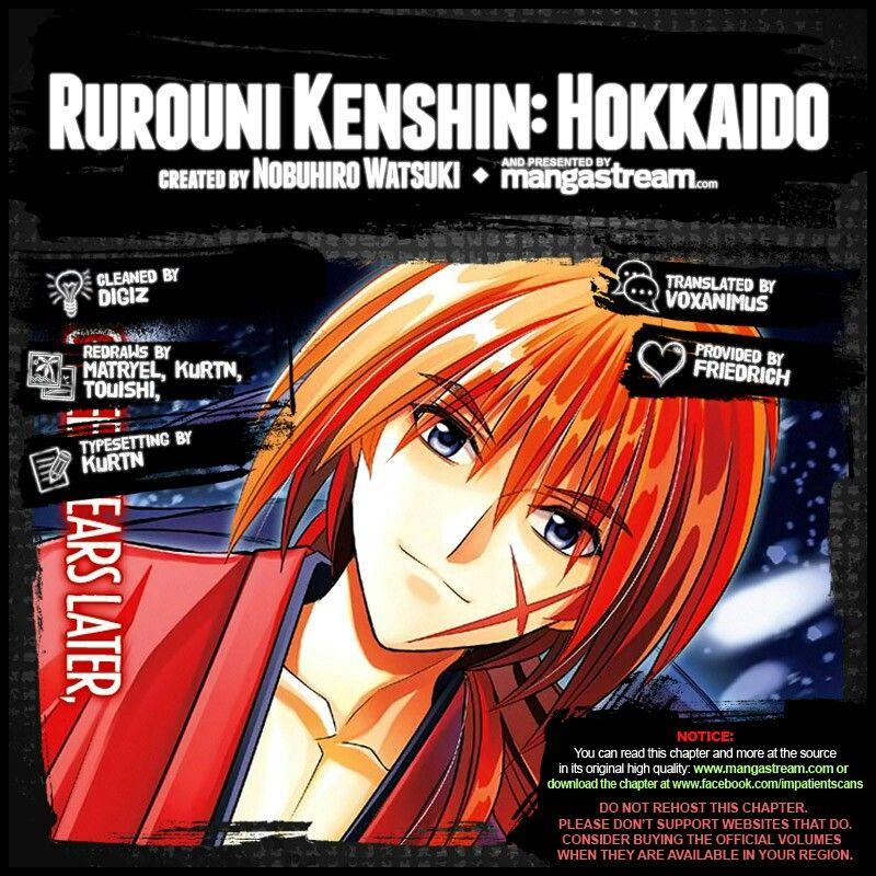 Rurouni Kenshin Rurouni kenshin, Type setting, The originals