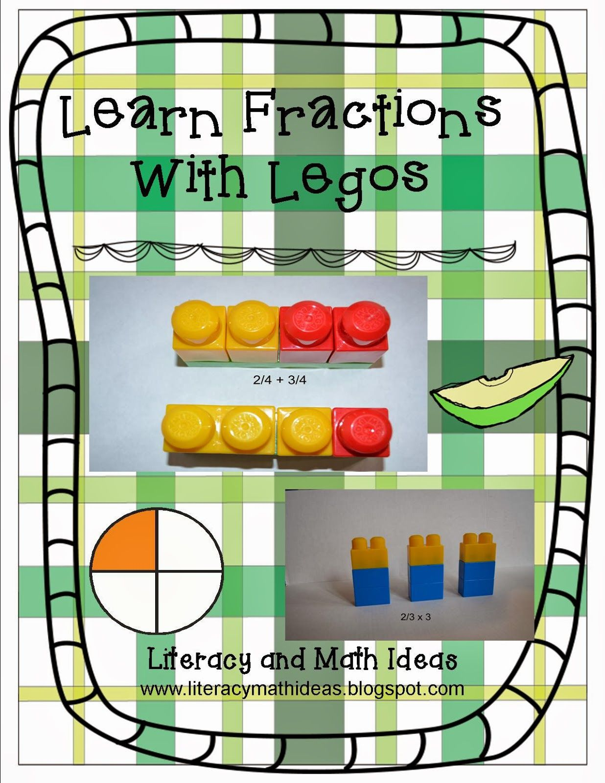 Learn Fractions With Building Blocks Or Legos