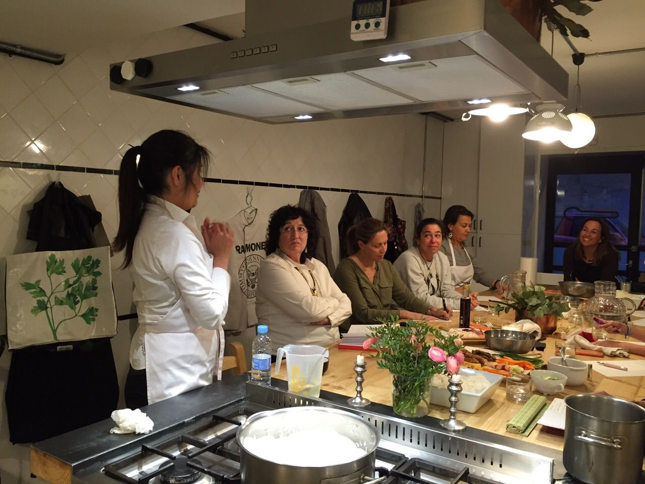Taller de #cocina #japonesa en #CucharaClub