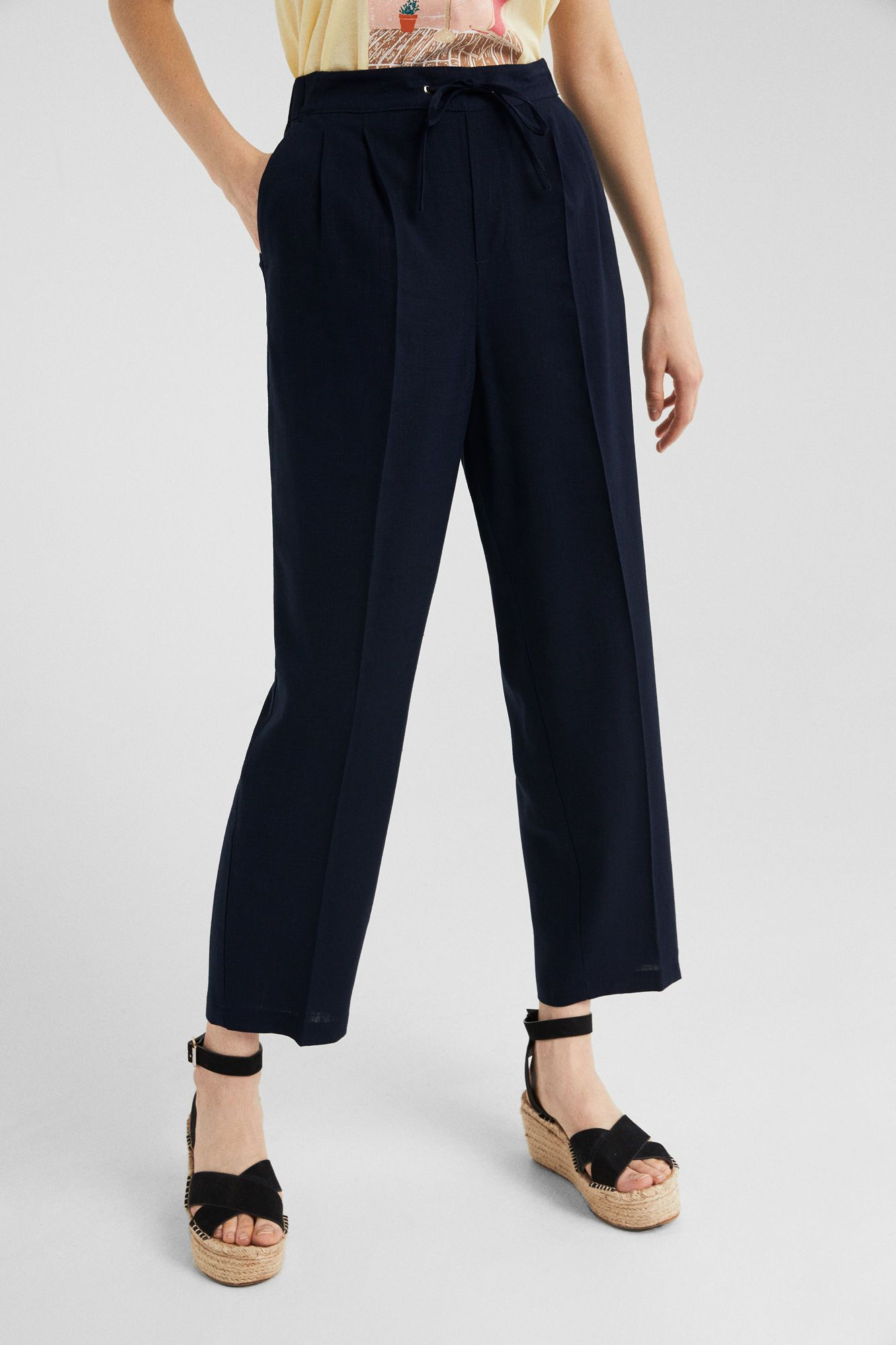 Springfield Pantalon Jogger Fluido Fashion Capri Pants Pants
