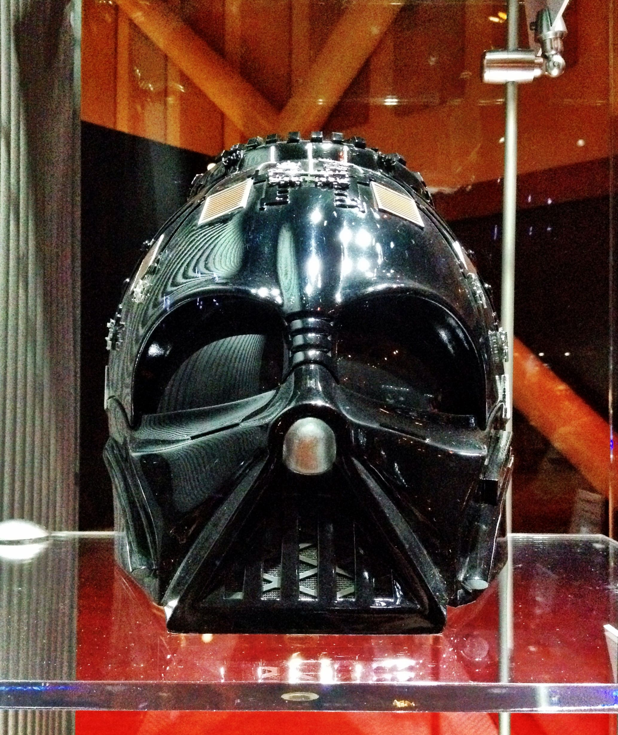 Helmet Piece From Darth Vader Used In Revenge Of The Sith Film Props Star Wars Movie Darth Vader