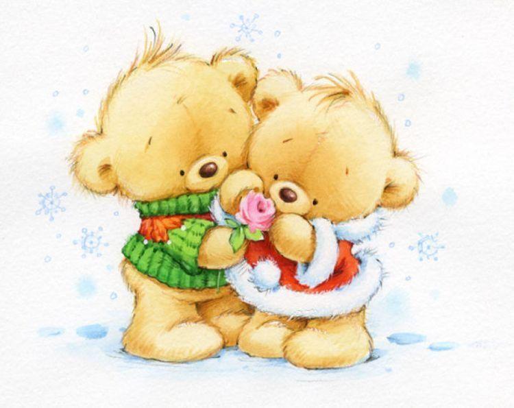 скриншоты открытки картинки медвежата крайней мере, его