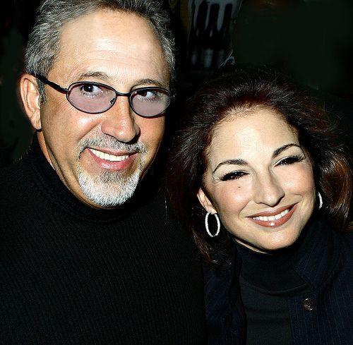 Emilio & Gloria Estefan two internationally famous Cuban musicians.