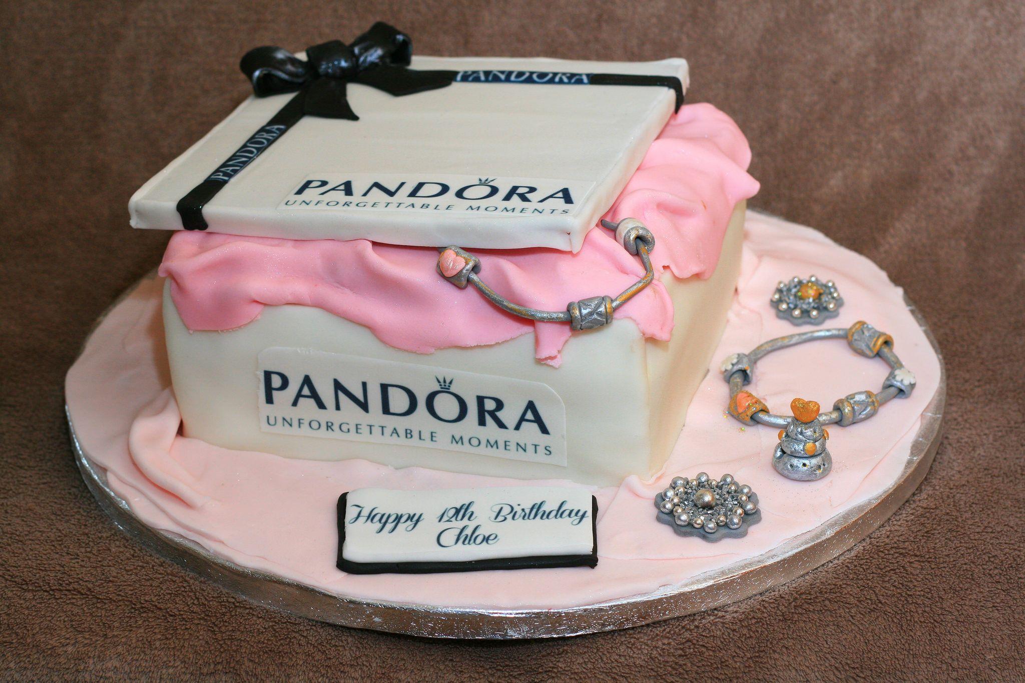 charm pandora torta compleanno