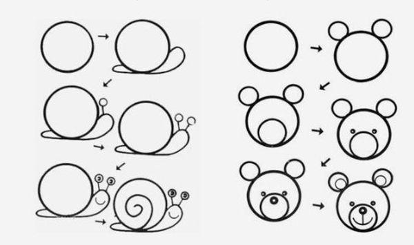Como Dibujar FÁcil MÉtodo Para Principiantes Y Como: Cómo Dibujar... ¡animales Fáciles