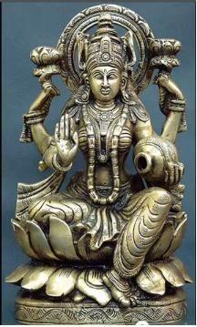 pinla vive on bharatiyam  hindu statues goddess