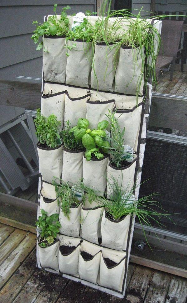 Shoebag Herb Garden Great For Apartment Living Balcony 400 x 300
