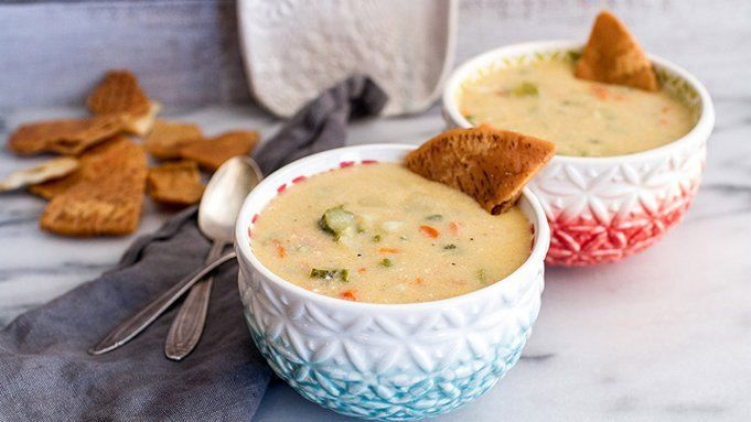 Easy Slow-Cooker Dill Pickle Soup