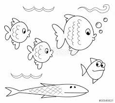 Risultati immagini per storia del pesciolino guizzino da for Disegni da colorare pesciolini