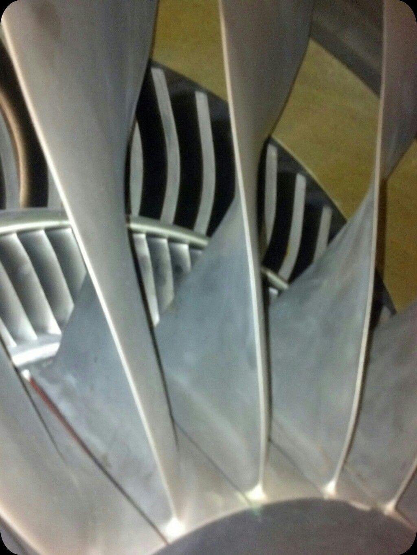 Down the intake - CF34 Turbofan | styles | Jet engine, Gas