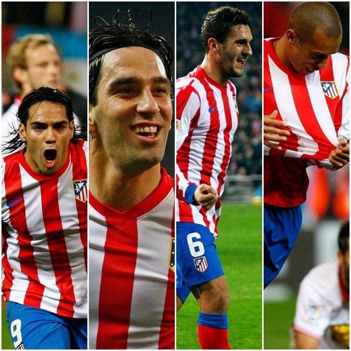 one, two, three, four - uno, dos, tres, cuatro. (At.Madrid 4-Sevilla 0)