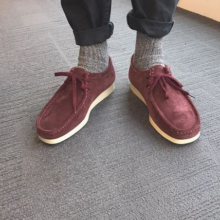 07a6b03983e Nerdy half masts + Clarks Originals Wallabees   new age dapper.  schuhpr