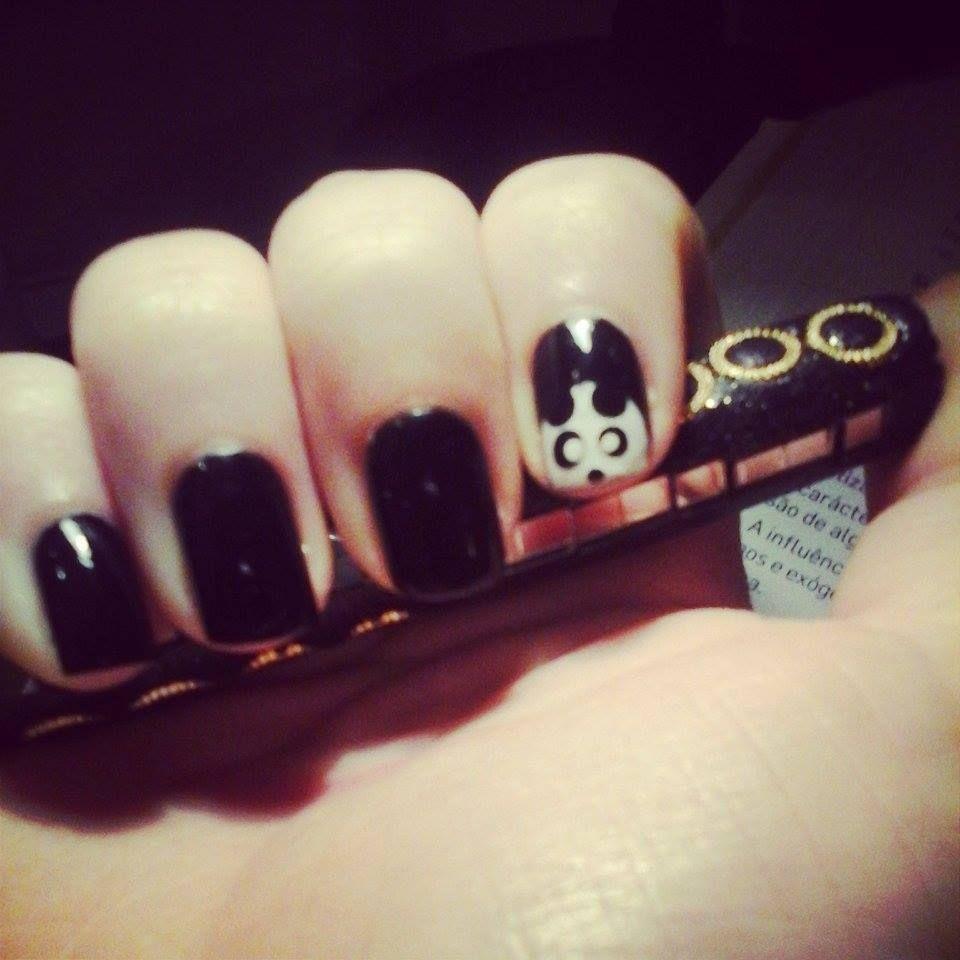 #panda #nails
