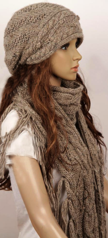 I like the slouchy hat look on young, skinny, hipster ...