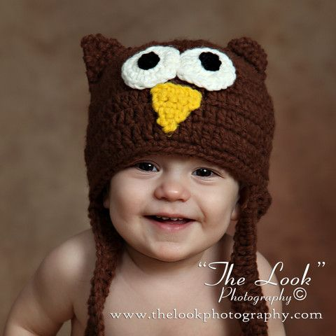 lil guy crochet owl baby hat crochet pinterest baby hats