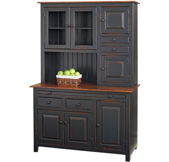 Black Kitchen Units Sale: Amish Hoosier Cabinet For Sale