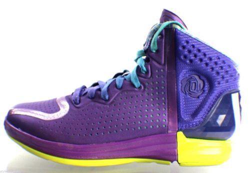 buy online 8e3b2 61bdd Adidas Derrick D Rose 4 Primetime Chicago Nightfall Basketball Shoes