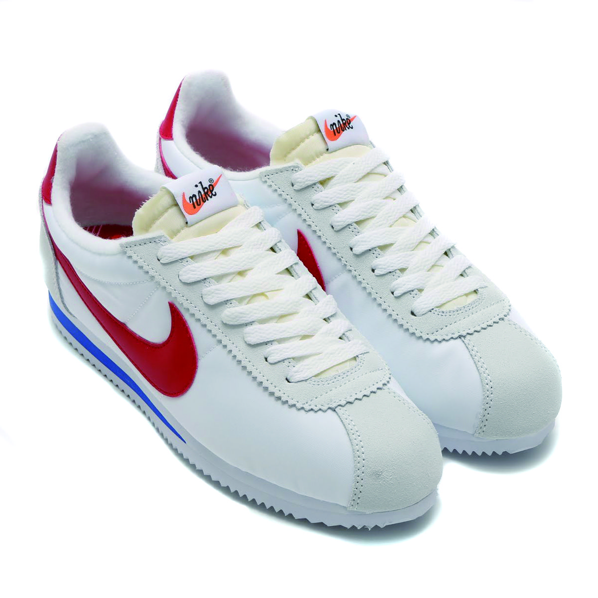 best website 497d9 f14b1 NIKE CLASSIC CORTEZ NYLON PREM QS WHITE   VARSITY RED-VARSITY ROYAL   atmos  Official mail order  shoes   sneakers, fashion atmos