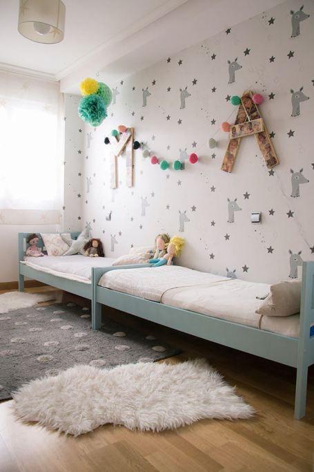 Habitaci n de ni os bonita kids 39 rooms habitaciones - Habitacion infantil compartida ...