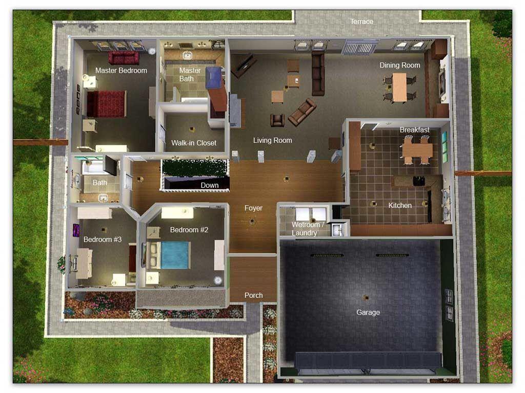 6 Bedroom Bungalow House Plans In Nigeria Modern Bungalow House Bungalow House Floor Plans Bungalow Floor Plans