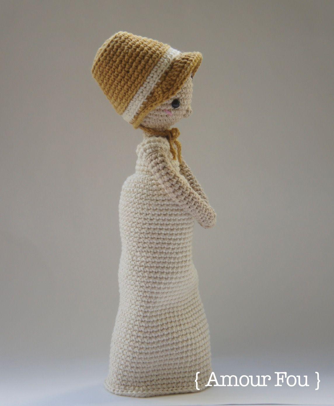 Elizabeth Bennet - Crochet Pattern by {Amour Fou} | Elizabeth bennet ...