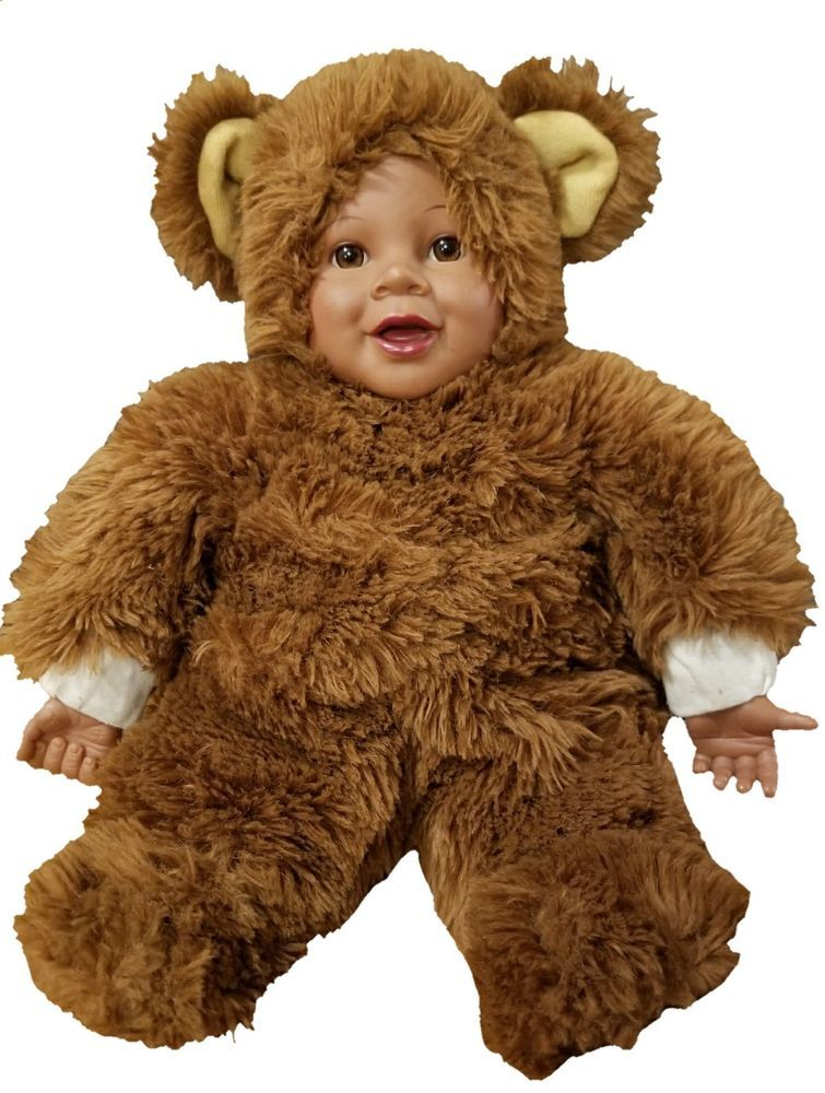Anne Geddes Baby Brown Bear Pretty And Colorful Dolls Dolls & Bears