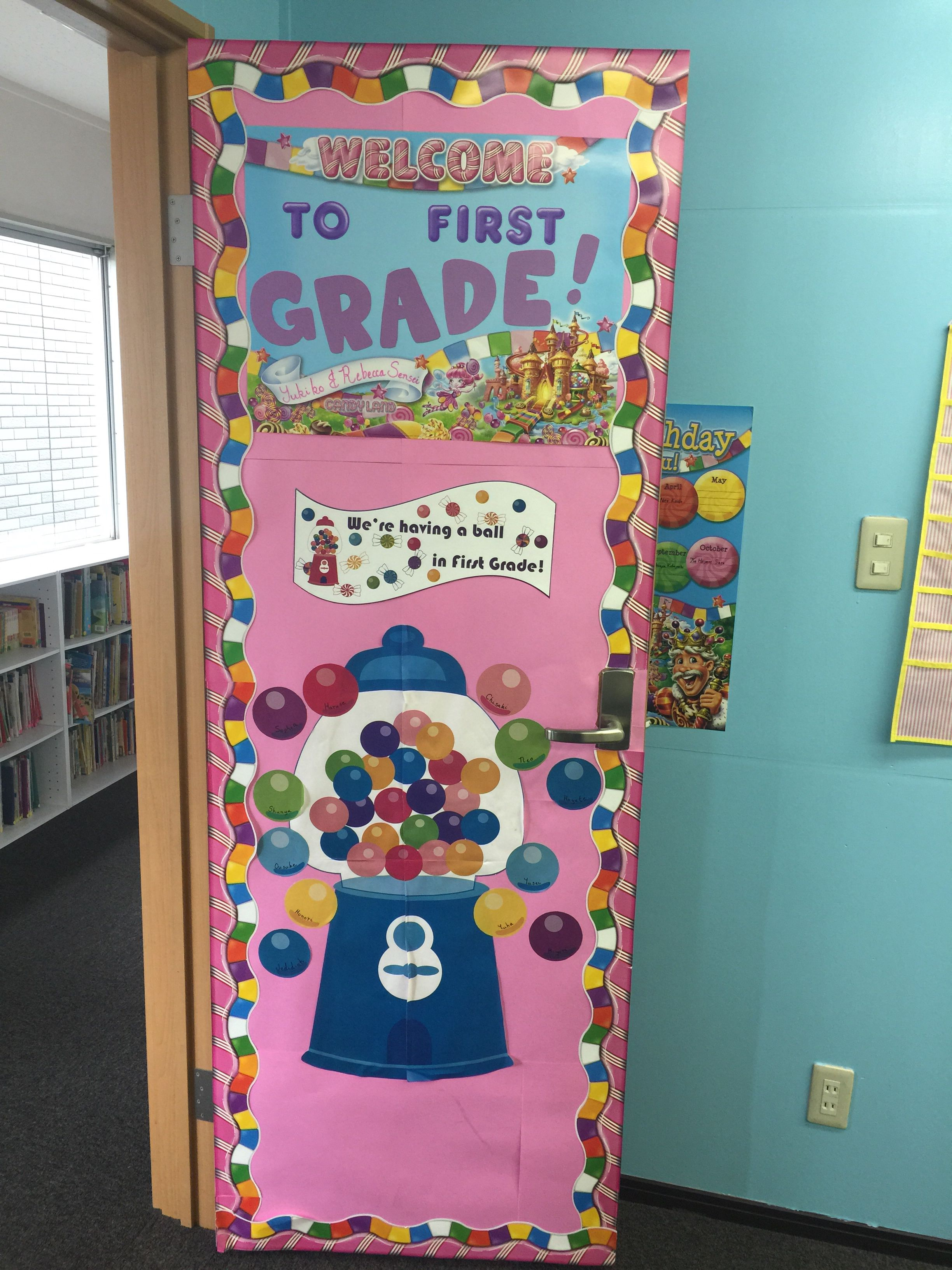 Door Decoration Candyland Theme With Images