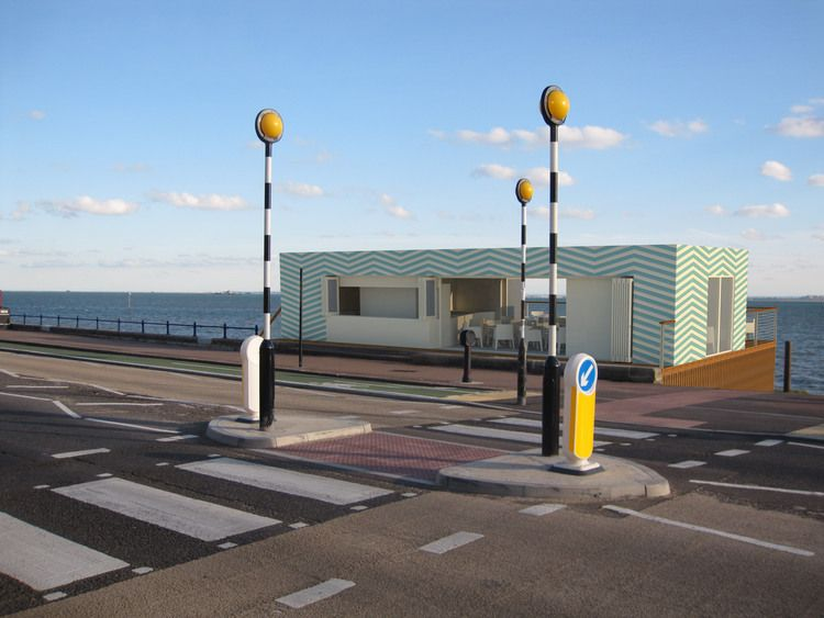 The Beach Hut Restaurant In Southend On Sea Designed By Http Www