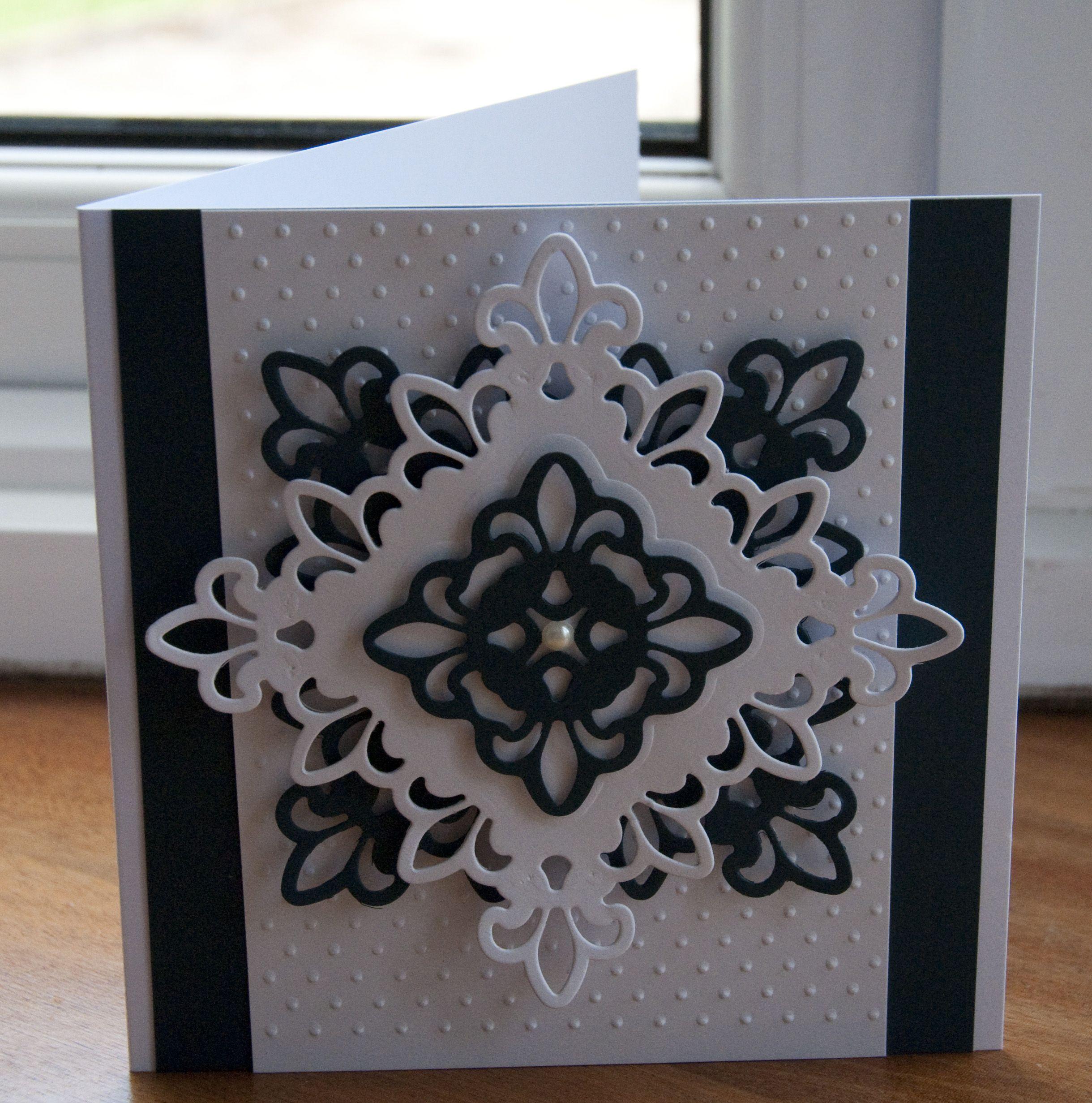 les 25 meilleures id es de la cat gorie spellbinders cartes sur pinterest invitation portes. Black Bedroom Furniture Sets. Home Design Ideas