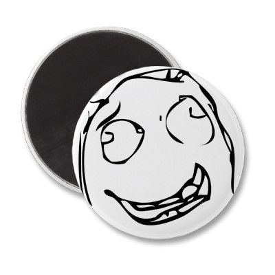 Heh Rage Face Magnets From Zazzle Reddit