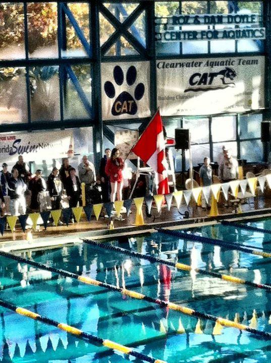 The Canadian National Anthem At The Al Soltis Meet Swim Meet National Anthem
