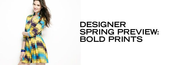Designer Spring Preview: Bold Prints - http://pusatbajugrosir.com/designer-spring-preview-bold-prints/