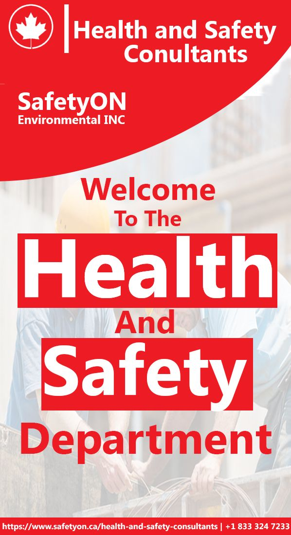 Health and safety is essential need for every living ...