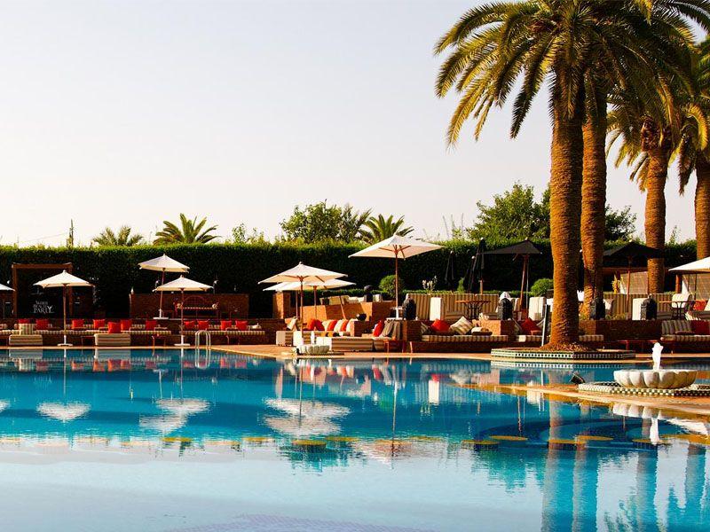 Piscine Hôtel Sofitel Marrakech à Marrakech Les plus belles - location de villa a agadir avec piscine