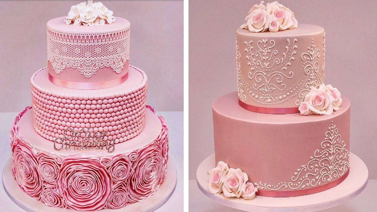Birthday Cake Decorating Tutorials Compilation - The Most Satisfying ...