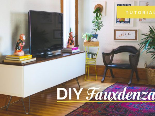 Credenza Table Ikea : Sewing & cutting table diy for your craft or studio home