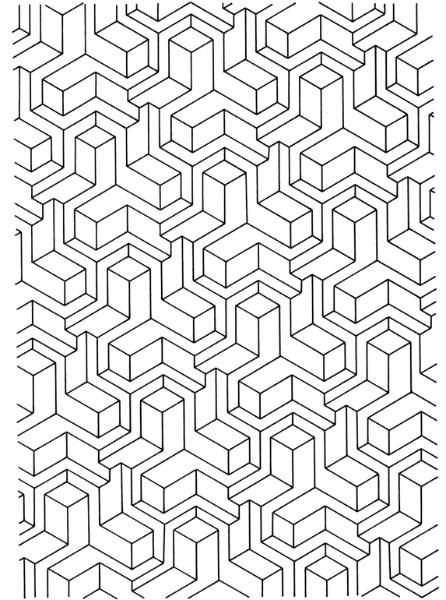 coloring pages :: geometric design b image by tharens ... - Coloring Pages Designs Shapes