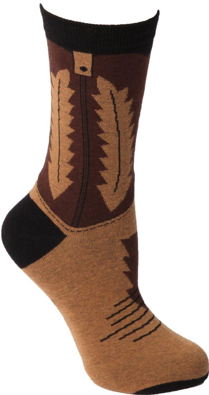 Amazon Com Foot Traffic Cowboy Boot Women S Socks