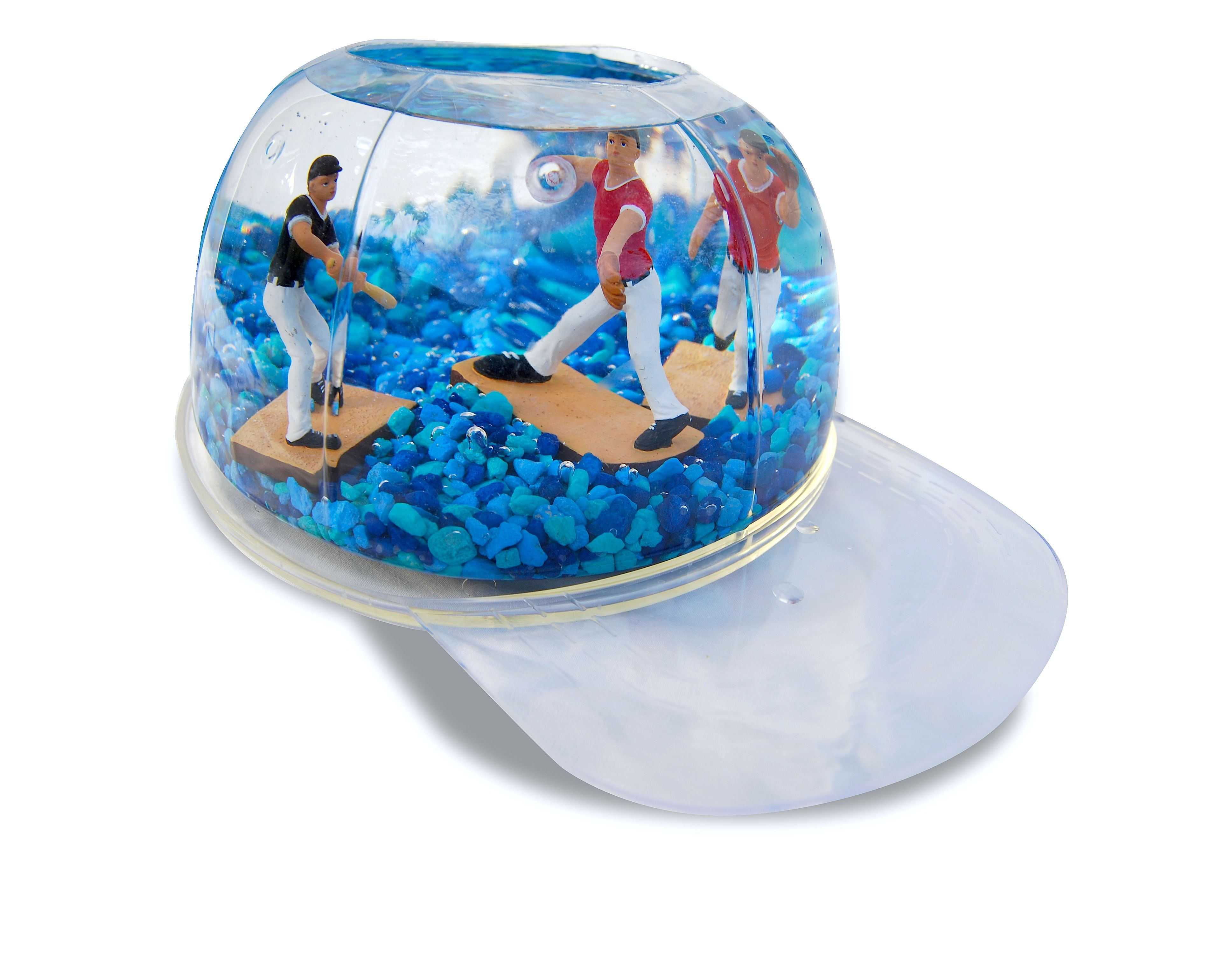 Watch out for or new Baseball shaped aquarium Take me out the
